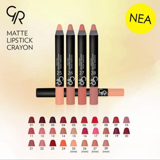 Matte Lipstick Crayon GR