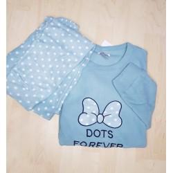 Φλις (fleece) γυναικείες πιτζάμες Φιστικί
