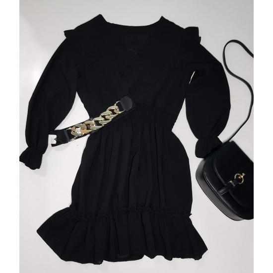 Μαύρο μίνι φόρεμα