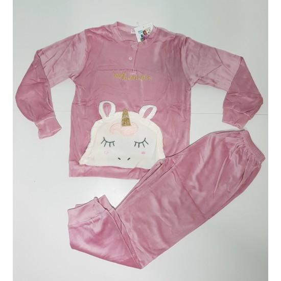 Παιδική βελουτέ πιτζάμα